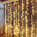 billige LED-lamper-3.3m Fleksible LED-lysstriper / Lysslynger / Smart Lights 304 LED Dip Led Varm hvit / Kjølig hvit / Multifarget Fest / Dekorativ / Fargegradering 100-240 V 1set