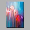 baratos Pinturas Abstratas-Pintura a Óleo Pintados à mão - Abstrato / Paisagem Contemprâneo / Modern Tela de pintura