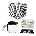 cheap Magnet Toys-512 pcs 5mm Magnet Toy Magnetic Balls Magnet Toy Super Strong Rare-Earth Magnets Magnetic Stress and Anxiety Relief Office Desk Toys Relieves ADD, ADHD, Anxiety, Autism Novelty Adults' All Toy Gift