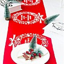 povoljno Božićni ukrasi-Odmor dekoracije Božićni ukrasi Božićni ukrasi Ukrasno Crvena / Tamno crvena / Meleg fehér 1pc