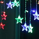 رخيصةأون أضواء شريط LED-5m أضواء سلسلة 216 المصابيح لون متعدد ديكور 220-240 V 1SET
