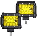 povoljno Krovna rasvjeta-OTOLAMPARA 2pcs Automobil Žarulje 60 W SMD 3030 6000 lm 20 LED Svjetlo za rad Za