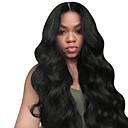 billige Blondeparykker med menneskehår-Ekte hår Ubehandlet Menneskehår Helblonde Parykk stil Brasiliansk hår Rett Krop Bølge Parykk 8-30 tommers med baby hår Naturlig hårlinje Dame Kort Medium Lengde Lang Blondeparykker med menneskehår