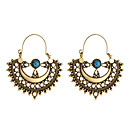 cheap Earrings-Women's Retro Drop Earrings - Totem Series Vintage, Ethnic, Boho Gold / Silver For Party Daily