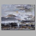 ieftine Proiectoare-Hang-pictate pictură în ulei Pictat manual - Abstract Peisaj Contemporan Modern Includeți cadru interior / Canvas laminat / Stretched Canvas