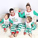 ieftine Set Îmbrăcăminte De Familie-Familie Uite De Bază Pantaloni - Animal Alb