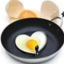 olcso Tojás eszközök-rozsdamentes acél műanyag fogantyú konyhai kreatív szív alakú omlett szeretet omlett szív omlett penész