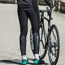 cheap Cycling Jerseys-SANTIC Men's Cycling Tights Bike Tights / Bottoms Windproof, Thermal / Warm Solid Colored Elastane Winter Black Mountain Cycling Semi-Form Fit Bike Wear / Micro-elastic