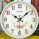 cheap DIY Wall Clocks-Modern / Contemporary Plastic & Metal Round Indoor,AA Batteries Powered Wall Clock