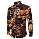cheap Robes & Sleepwear-Men's Street chic Shirt - Geometric