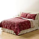 hesapli Yorgan Kılıfları-Rahat - 1 Adet Yorgan / 2 adet Yastıklar (İki veya tek kişilik için sadece 1 adet yastık) Tüm Mevsimler Pamuk Solid