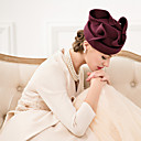 cheap Party Headpieces-Wool Fascinators Hats Headpiece