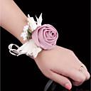 povoljno Cvijeće za vjenčanje-Cvijeće za vjenčanje Wrist Corsage Vjenčanje / Svadba Svila / Platno 0-10 cm