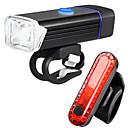 povoljno Svjetla za bicikle-LED Svjetla za bicikle Set svjetala za bicikl s mogućnošću punjenja Stražnje svjetlo za bicikl sigurnosna svjetla Brdski biciklizam Biciklizam Vodootporno Višestruka načina Super Bright Litij-ionska
