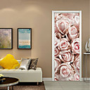 cheap Wall Stickers-Decorative Wall Stickers - 3D Wall Stickers Still Life / Floral / Botanical Living Room / Study Room / Office