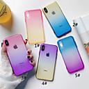 levne Pouzdra telefonu & Ochranné fólie-Carcasă Pro Apple iPhone XS / iPhone XS Max Průsvitný Zadní kryt Zářící barvy Měkké TPU pro iPhone XS / iPhone XR / iPhone XS Max