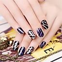 billige Dekaler-1 pcs Klistermærker Kreativ Negle kunst Manicure Pedicure Multifunktionel Trendy / Mode Daglig