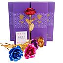abordables Fleur artificielles-Fleurs artificielles 1 Une succursale Classique Moderne contemporain Traditionnel Roses Fleur de Table
