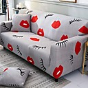 cheap Slipcovers-Sofa Cover Geometric Reactive Print Polyester Slipcovers