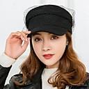 levne Ozdoby do vlasů na večírek-Dámské Aktivní Základní Kšiltovka Sluneční klobouk-Jednobarevné Polyester Úplet Celý rok Vodní modrá Černá