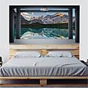 preiswerte Customized Uhren-Dekorative Wand Sticker - 3D Wand Sticker / Ferien-Wand-Aufkleber Danksagungen / Feiertage Schlafzimmer / Studierzimmer / Büro
