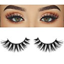 cheap Other Makeup Implements-Eyelash Extensions 2 pcs Handmade Cute Soft Soft Beauty Cute Animal wool eyelash Party Birthday Daily Wear Crisscross Natural Long The End Is Longer - 1160 Daily Makeup Sexy High Quality Cosmetic