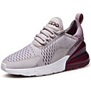 cheap Women's Athletic Shoes-Women's Mesh / Tissage Volant Spring &  Fall Sporty / Casual Athletic Shoes Running Shoes Flat Heel Black / Light Grey / Black / White
