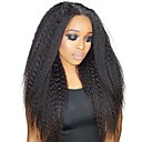 cheap Tape in Hair Extensions-Dolago Clip In Human Hair Extensions Straight Natural Human Hair Extensions Human Hair Brazilian Hair 7 pcs Odor Free Normal Natural All - Natural Black