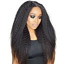 tanie Przedłużenie micro ring-Dolago Clip In Ludzkich włosów rozszerzeniach Prosta Natutalne Doczepy z naturalnych włosów Włosy naturalne Włosy brazylijskie 7 szt. Bezzapachowy Natutalne 100% Dziewica Wszystko - Naturalna czerń