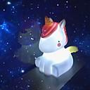 זול להאיר את צעצועים-תאורת לד Unicorn חמוד פלסטיק רך בגדי ריקוד ילדים מתבגר כל צעצועים מתנות 1 pcs