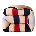 cheap Quilts & Coverlets-Comfortable - 1pc Comforter Autumn / Fall / Winter Microfiber Striped / Geometric