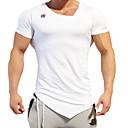 رخيصةأون قمصان وبنطلونات وشورتات الجري-رجالي V رقبة أساسي تيشيرت محكم على الجسم أسود أحمر أزرق بحري داكن رياضات قمم اكتشف - حل ألبسة رياضية ضغط مرن نسبياً