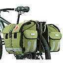 cheap Bike Frame Bags-ROSWHEEL 45 L Bike Panniers Bag Adjustable Large Capacity Waterproof Bike Bag Canvas Waterproof Material Bicycle Bag Cycle Bag Cycling / Bike / Waterproof Zipper