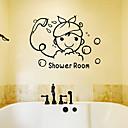 levne Samolepky na zeď-Ozdobné samolepky na zeď - Lidé na zeď nálepky Postavy Obývací pokoj / Ložnice / Koupelna