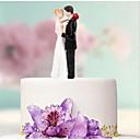 povoljno Figure za tortu-Figure za torte Odmor / Vjenčanje / Obitelj Ljubav / Par Classic ABS smola Vjenčanje / Rođendan s Color blok 1 pcs Kartonska kutija