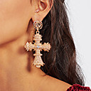 preiswerte Ohrringe-Damen Quaste Ohrring Ohrringe Stilvoll Schmuck Gold Für Party Alltag 1 Paar