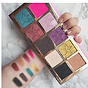 cheap Eyeshadows-10 Colors Eyeshadow / Eyeshadow Palette Eye / Daily / Cosmetic Kits / Easy to Carry / Multi-tool Portable Comfortable Daily Makeup / Halloween Makeup / Party Makeup 1160 Cosmetic