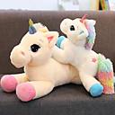 cheap Stuffed Animals-Unicorn Cartoon Unicorn Horse Stuffed Animal Plush Toy Animals Lovely Comfy Cotton / Polyester All Toy Gift 1 pcs