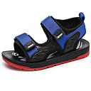 זול נעלי ילדים-בנים נעליים עור קיץ נוחות סנדלים ל ילדים / מתבגר אדום / כחול