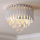 cheap Ceiling Lights-QIHengZhaoMing 6-Light Flush Mount Lights Ambient Light Electroplated Crystal 110-120V / 220-240V Warm White