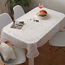 זול כיסויי שולחן-עכשווי 100 גרם למטר מרובע, פוליאסטר סרוג נמתח ריבוע כיסויי שולחן גיאומטרי לוח קישוטים 1 pcs