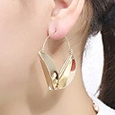 cheap Earrings-Women's Earrings Retro Stylish Earrings Jewelry Gold / Silver For Party Daily 1 Pair