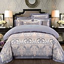 cheap High Quality Duvet Covers-Duvet Cover Sets Floral / Contemporary Polyster Reactive Print 4 PieceBedding Sets