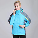 cheap Softshell, Fleece & Hiking Jackets-Women's Hiking 3-in-1 Jackets outdoor Spring Fall Winter Windproof Thermal / Warm Quick Dry Ultraviolet Resistant Wearable Sweat-wicking Thick Hiking Jackets Camping & Hiking Apparel & Accessories