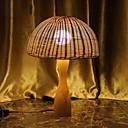 זול מנורות שולחן-פשוט דקורטיבי מנורת שולחן עבור חדר שינה עץ / במבוק 220V