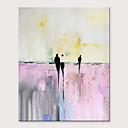 halpa Abstraktit maalaukset-Hang-Painted öljymaalaus Maalattu - Abstrakti Ihmiset Moderni Ilman Inner Frame