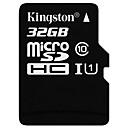 abordables Cartes Mémoire-Kingston 32Go TF carte Micro SD Card carte mémoire Class10