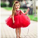 halpa Tyttöjen mekot-Lapset Taapero Tyttöjen Aktiivinen Perus Yhtenäinen Hihaton Mekko Punastuvan vaaleanpunainen