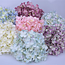 halpa Tekokukat-Keinotekoinen Flowers 1 haara Klassinen Eurooppalainen Pastoraali Tyyli Hortensiat Pöytäkukka