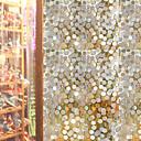 levne Samolepky na zeď-Okenní film a samolepky Dekorace Matte / Moderní Geometrický PVC Nálepka na okna / Mat